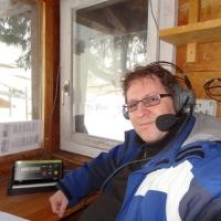 Skirennen vom Schneeschreck in Grüsch Danusa: Thorsten Saile hatte die Zeiten voll im Griff.