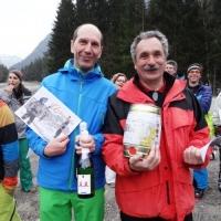 Skirennen vom Schneeschreck in Grüsch Danusa: Vor der Heimfahrt wurden die Sieger geehrt.