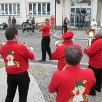 Die Clowngruppe der Schneckenburg in Tabor: Es wurden verschiedene Spieltermine wahrgenommen.