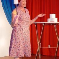 11.11. in der Linde: Petra Bruderhofer war die Klofrau vom Freizeitpark.