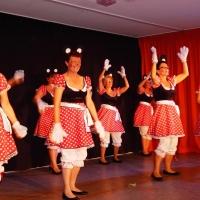 11.11. in der Linde: Die Tanzmäuse der Schneckenburg unter der Leitung von Ute Hofmeier.