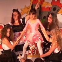 11.11. in der Linde: Es tanzten mit Annika Suckow, Beatrice Fritzsche, Laura Muffler und Saskia Mayer.