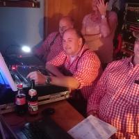 11.11. in der Linde: Die Technik stand hochkonzentriert parat.