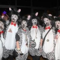 Schneckenbürgler Fasnachtparty im Konzil: Viele lustige Kostüme waren im Saal unterwegs.