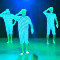 """11.11. in der Linde: Es tanzten mit:""""Moritz Martin, Sascha Nendel, Simon Zachenbacher, Fabian Hoch, Manuel Spießer und Nils Kasseckert""""."""