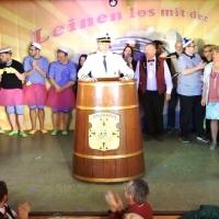11.11. in der Linde: Präsident Jürgen Stöß bedankte sich bei den Akteuren und beim Publikum.