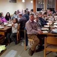 Fischessen am Aschermittwoch: Das Essen fand in den Räumen des Bouleclubs statt.