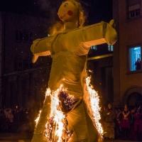 Verbrennung auf dem Stephansplatz: Darauf folgte dann die Puppe.