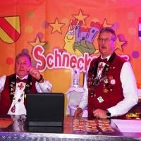 11.11. der Schneckenburg: An der Kartentheke kurz vor der Saalöffnung.