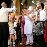 11.11. der Schneckenburg: Die Musikalische Leitung hatte Gerd Zachenbacher.