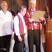 11.11. der Schneckenburg: Thomas Bürger wurde zum Ehrenelferrat ernannt.