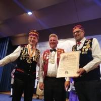 Ehrenelfer Detlev Görn wurde am 02.02. von der Narrenvereinigung Hegau Bodensee zum Obristen ernannt.