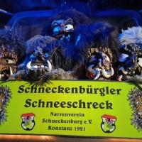 Reichenauer Jubiläum: Am Freitag war der Schneeschreck bereits beim Nachtumzug.