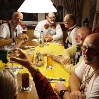 Rosenmontag: Abendessen in Überlingen am Ried.