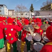 Schmutziger Donnerstag: Der Schneckenburg besuchte den Kindergarten Käthe-Luther.