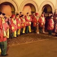Verbrennung auf dem Stefansplatz: Letzter Spieltermin der Clowngruppe.