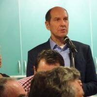 Ordensverleihung: Präsident Jürgen Stöß übernahm wie immer die Verteilung