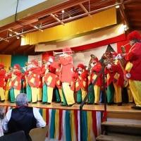 Frühschoppen der Quaker mit der Clowngruppe der Scheckenburg.
