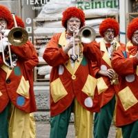 Rosenmontag Clowntag: Spieltermin auf der Marktstätte.