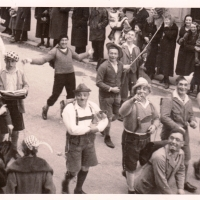 Der Schmutzige Donnerstag. Gottmannplatz 1934.