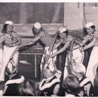 Bunter Abend 1938: Das Matrosenballett auf großer Fahrt.