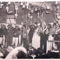 Bunter Abend 1938: Alle Mann an Bord zum großen Schlussfinale.