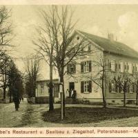 """Der Ziegelhof aus dem Jahre 1917. Von den Schneckenbürglern liebevoll """"Dachplattenhof"""" genannt."""
